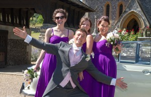 Groom and Bridesmaids