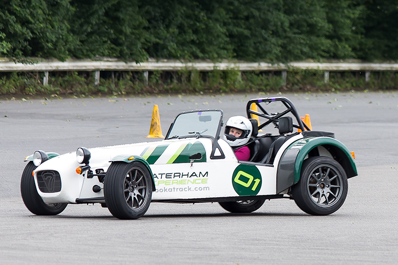 Drifting a Caterham